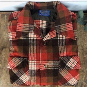 Vintage Pendleton Flannel Wool Shirt Medium